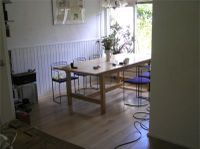 Wood You Like's Duoplank Oak Flooring in a Friese dining room